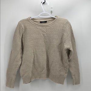 Mango basics cropped sweater